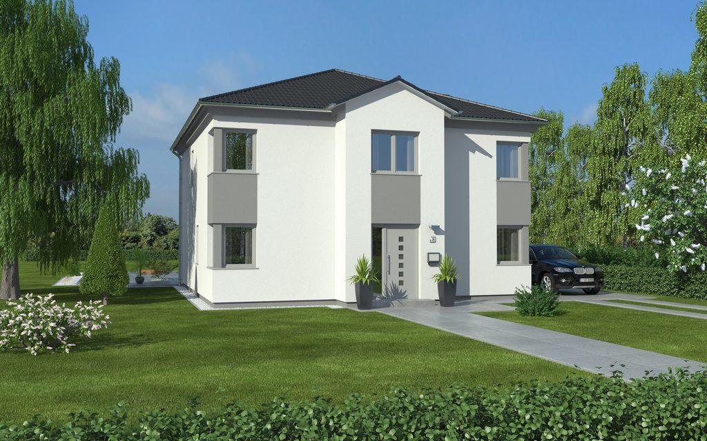 Westermann massivhaus gmbh avance 159 for Moderner baustil