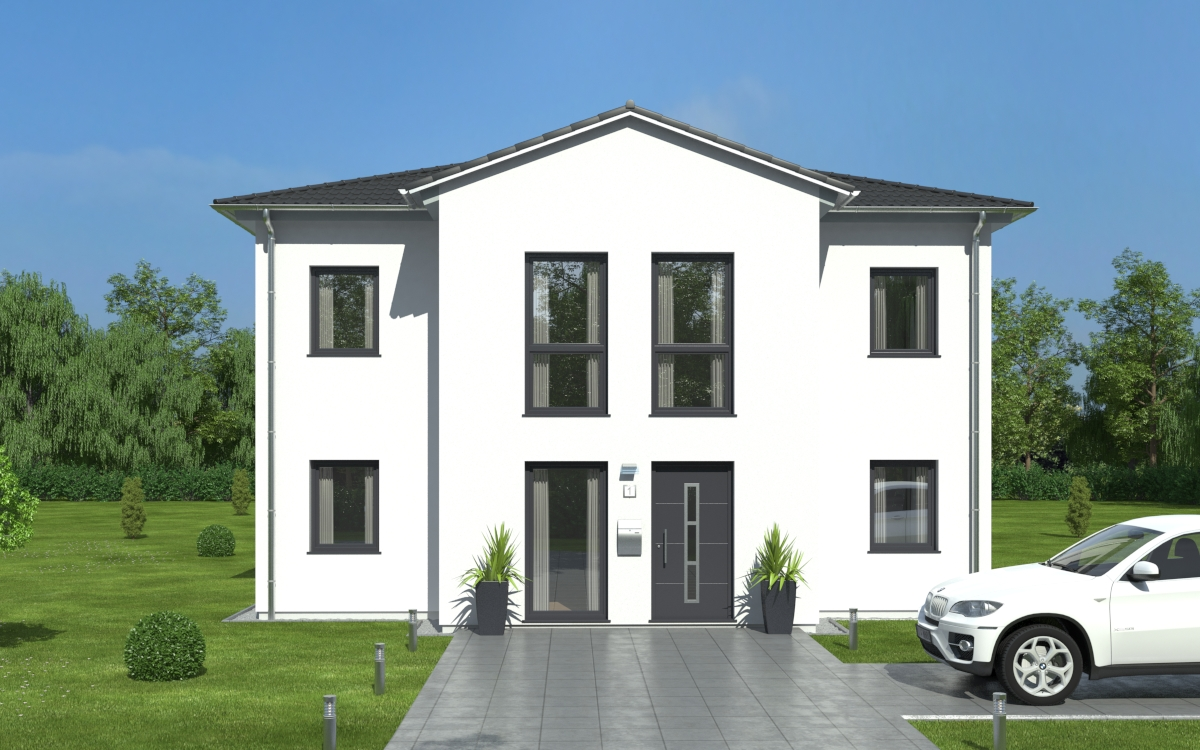 Westermann massivhaus gmbh avance 180 for Moderner baustil